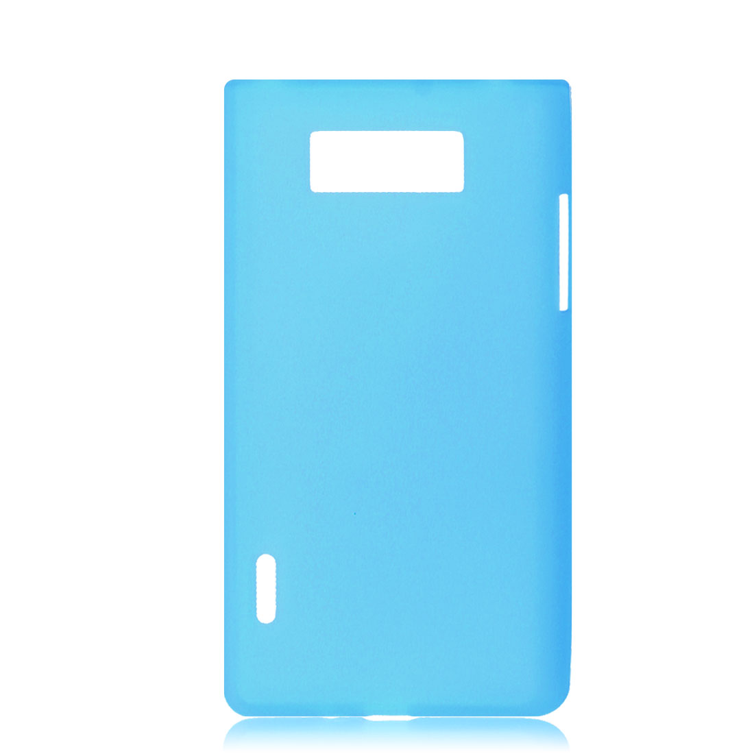 Sky Blue Soft Plastic Case Cover Protector Shell for LG Optimus L7 P700/P705