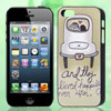 Lovers in Car Letters Printed IMD Hard Back Case Cover for iPhone 5 5G