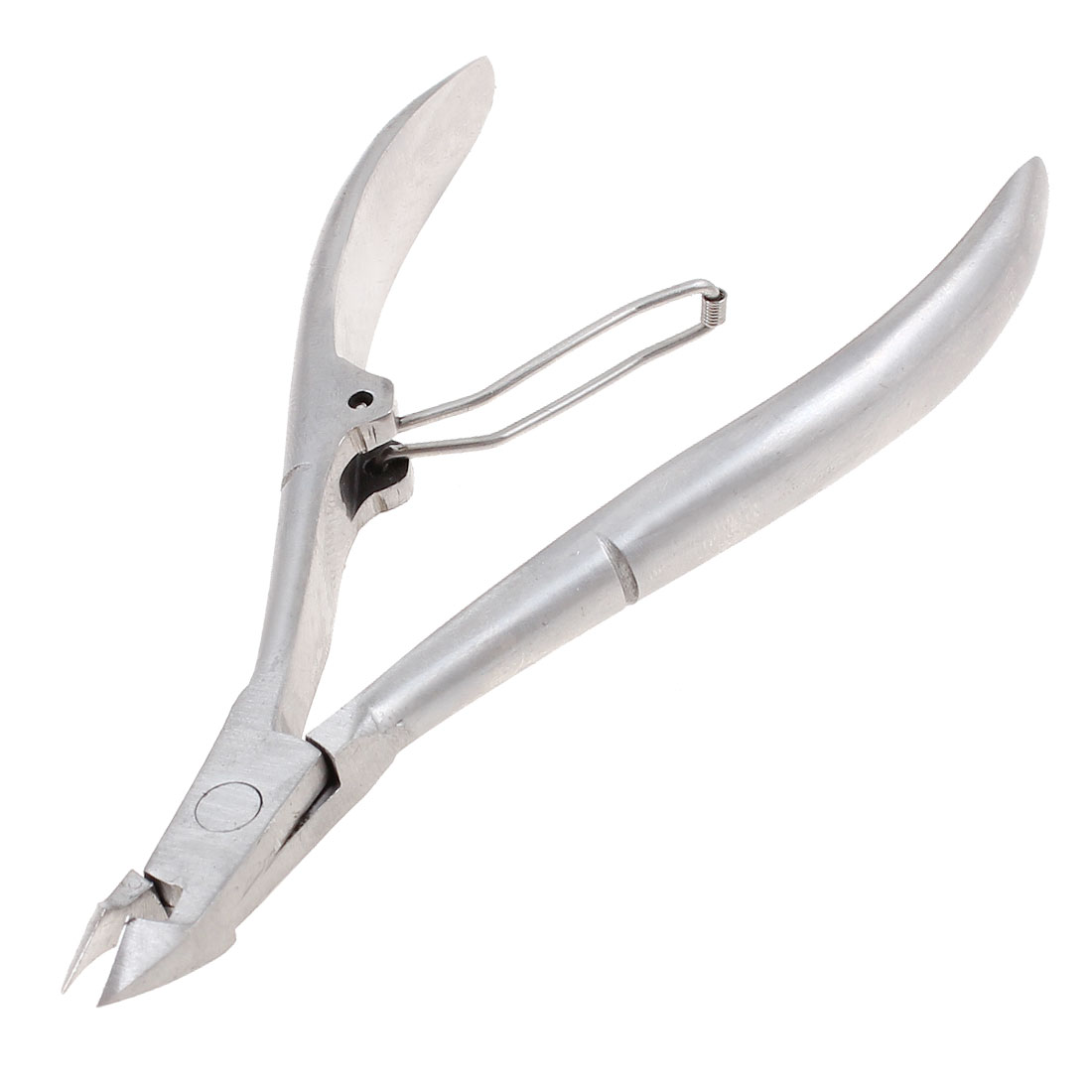 "Beauty Tool Silver Tone Nipper Manicure Cuticle Cutter 4"" Long"