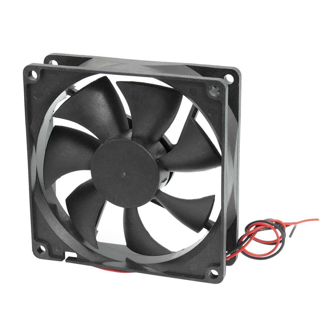 90mm x 90mm x 25mm Computer Case CPU Cooler DC Cooling Fan 12V 0.09A