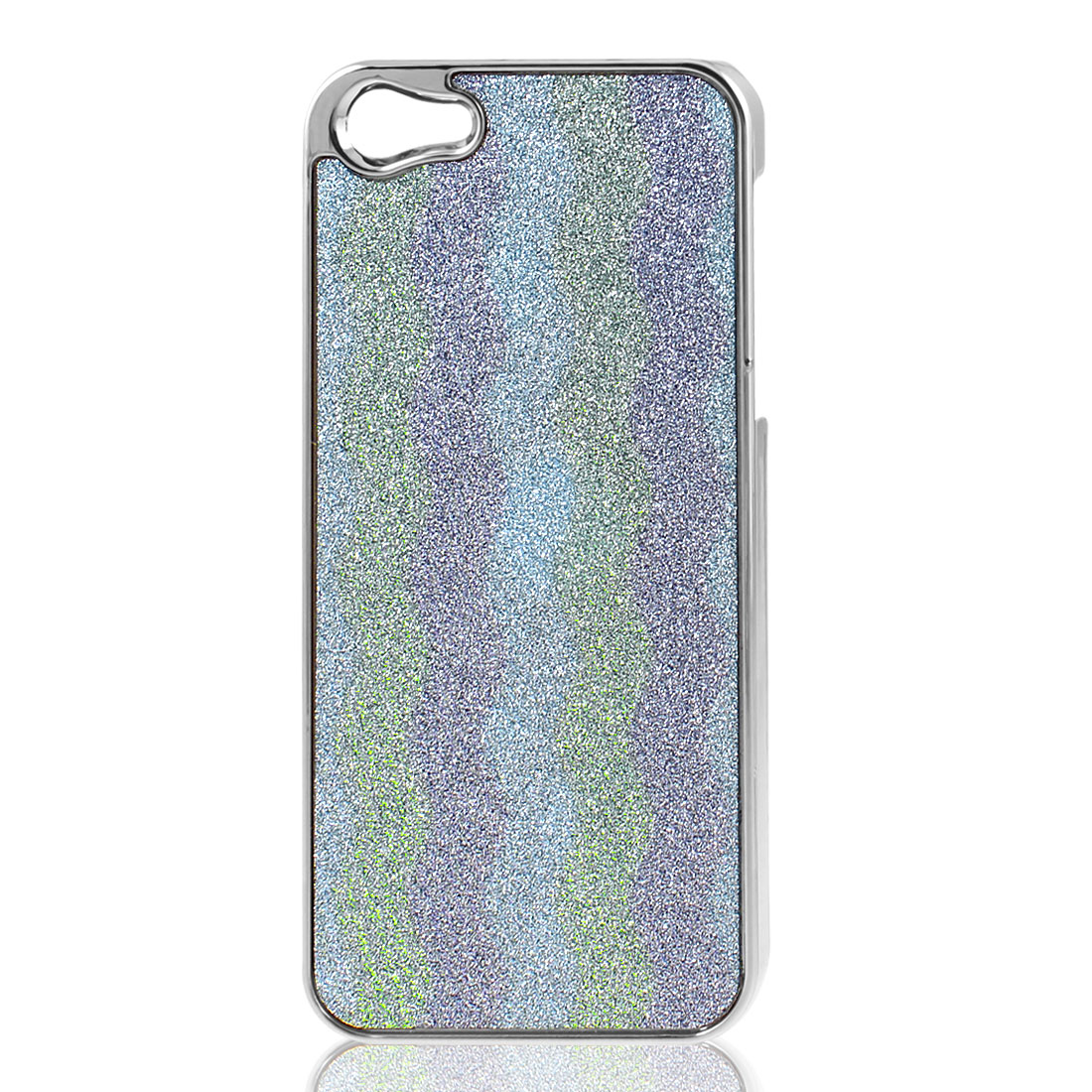 Glittery Plastic Back Case Cover for Apple iPhone 5 5G 5th Gen