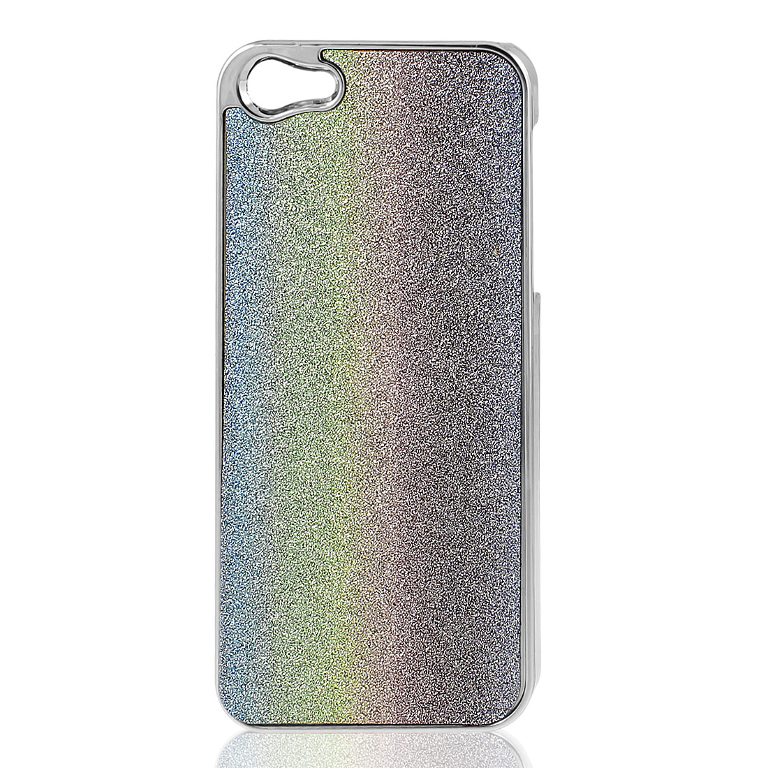 Colorful Bling Glittery Hard Plastic Back Case Cover for iPhone 5 5G