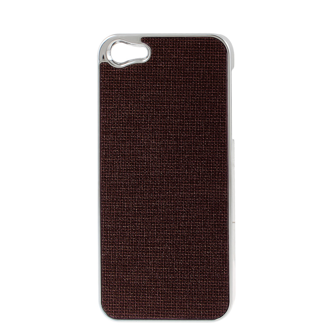 Wine Red Bling Glittery Hard Plastic Back Case Cover for iPhone 5 5G