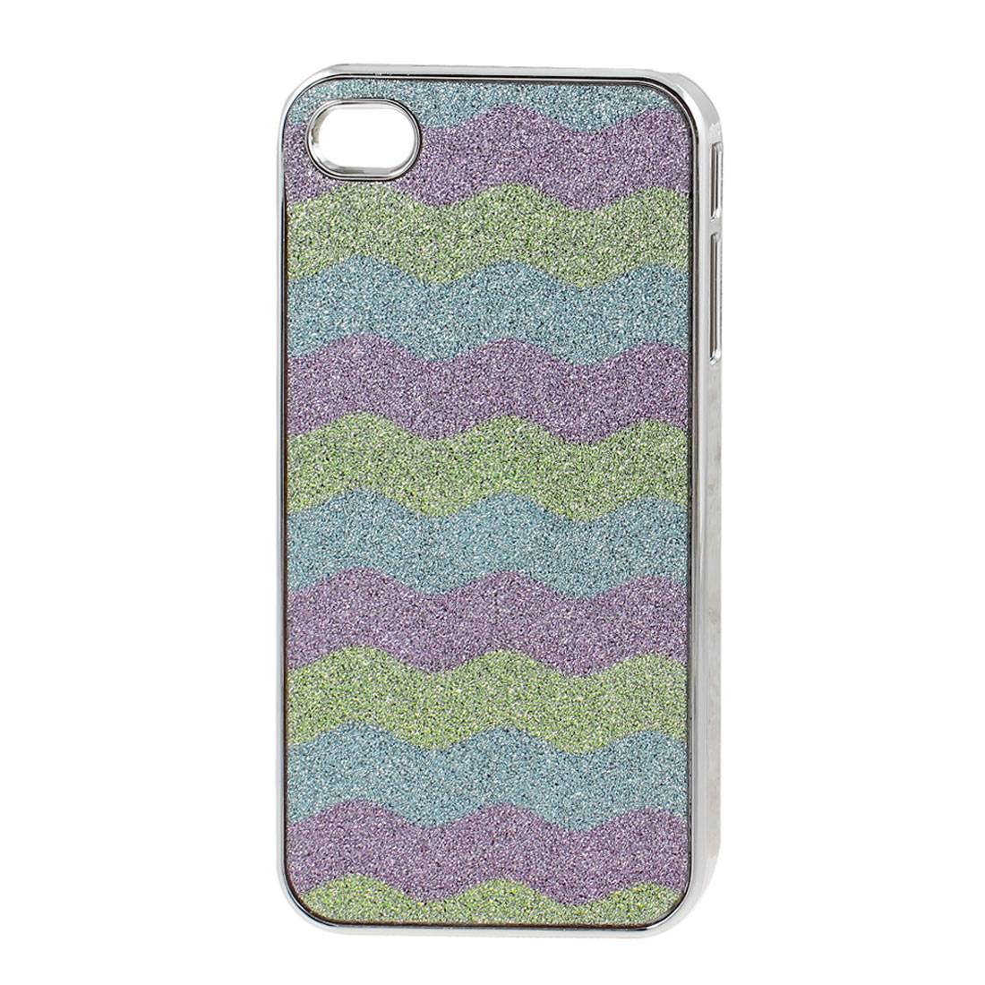 Purple Blue Green Protective Back Case Cover Shell for Apple iPhone 4 4G