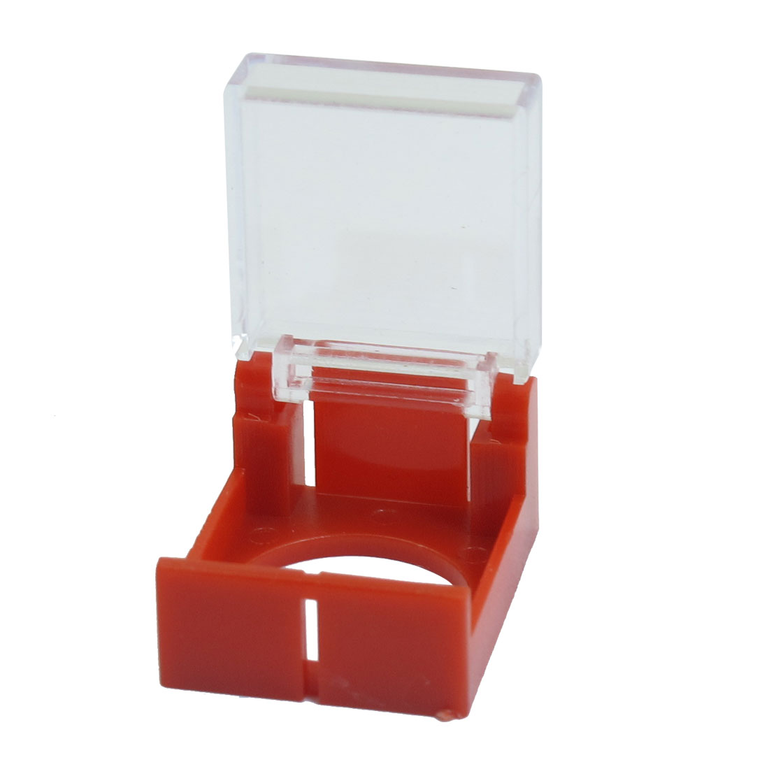 Red 16mm Plastic Protective Guard for Round Push Button Switch