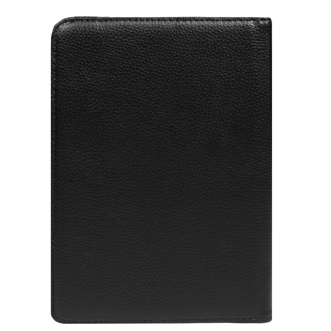 Black Faux Leather Tablet Stand Flip Case for Apple iPad Mini