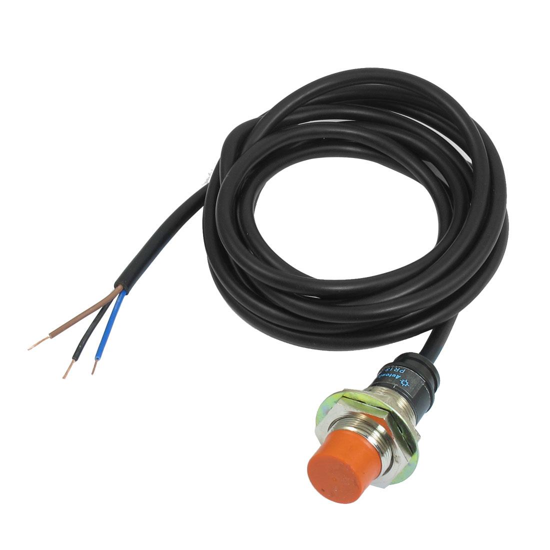 PR18-8DP 8mm Noncontact Sensor Inductive Proximity Switch Detector PNP DC 12-24V
