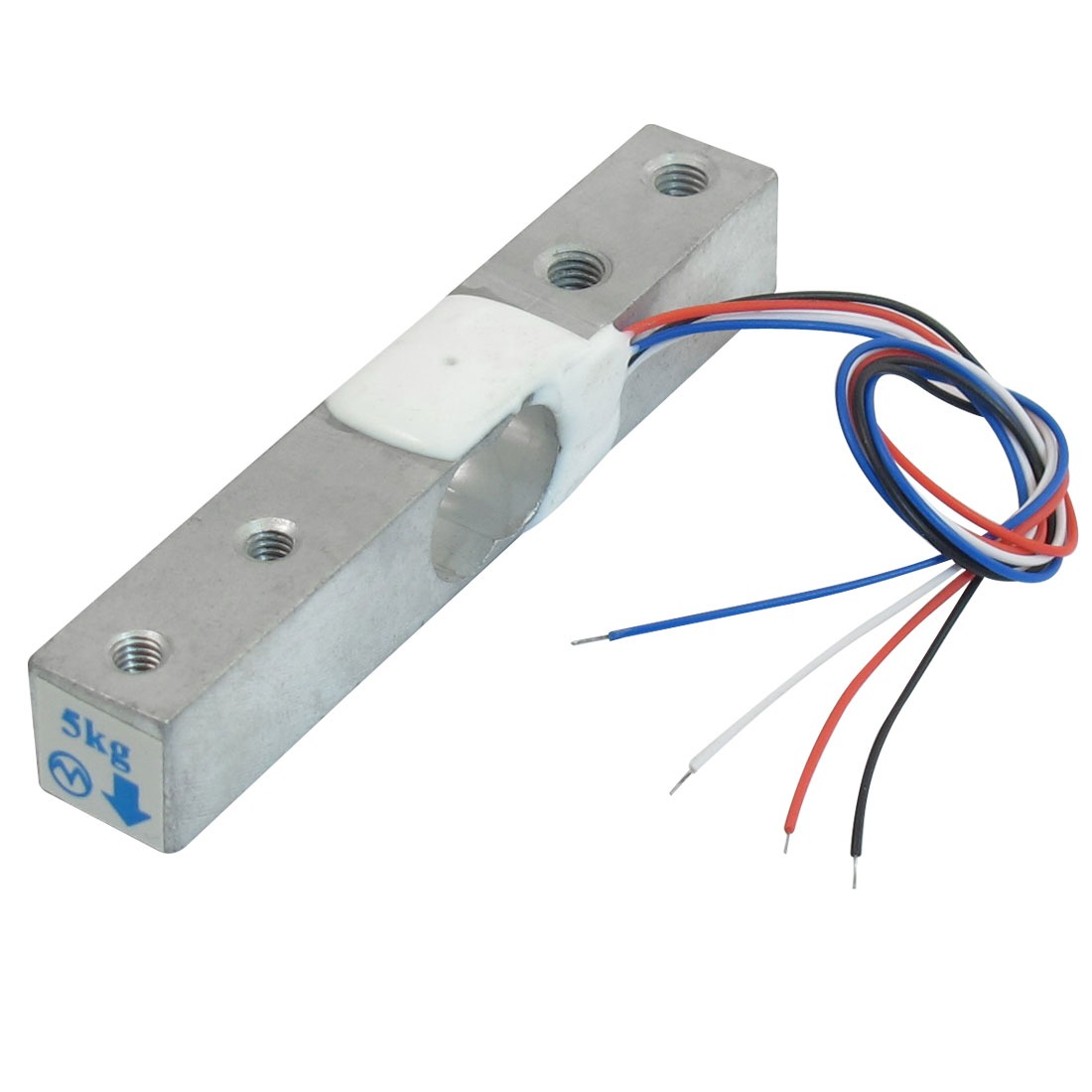 80mmx12.7mmx12.7mm Weighing Electronic Balance Wired Load Cell Sensor 0-5Kg