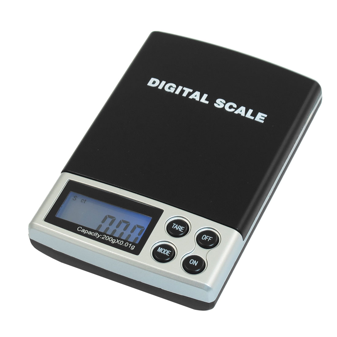 LCD Display Digital Pocket Rectangle Weight Scale 200g