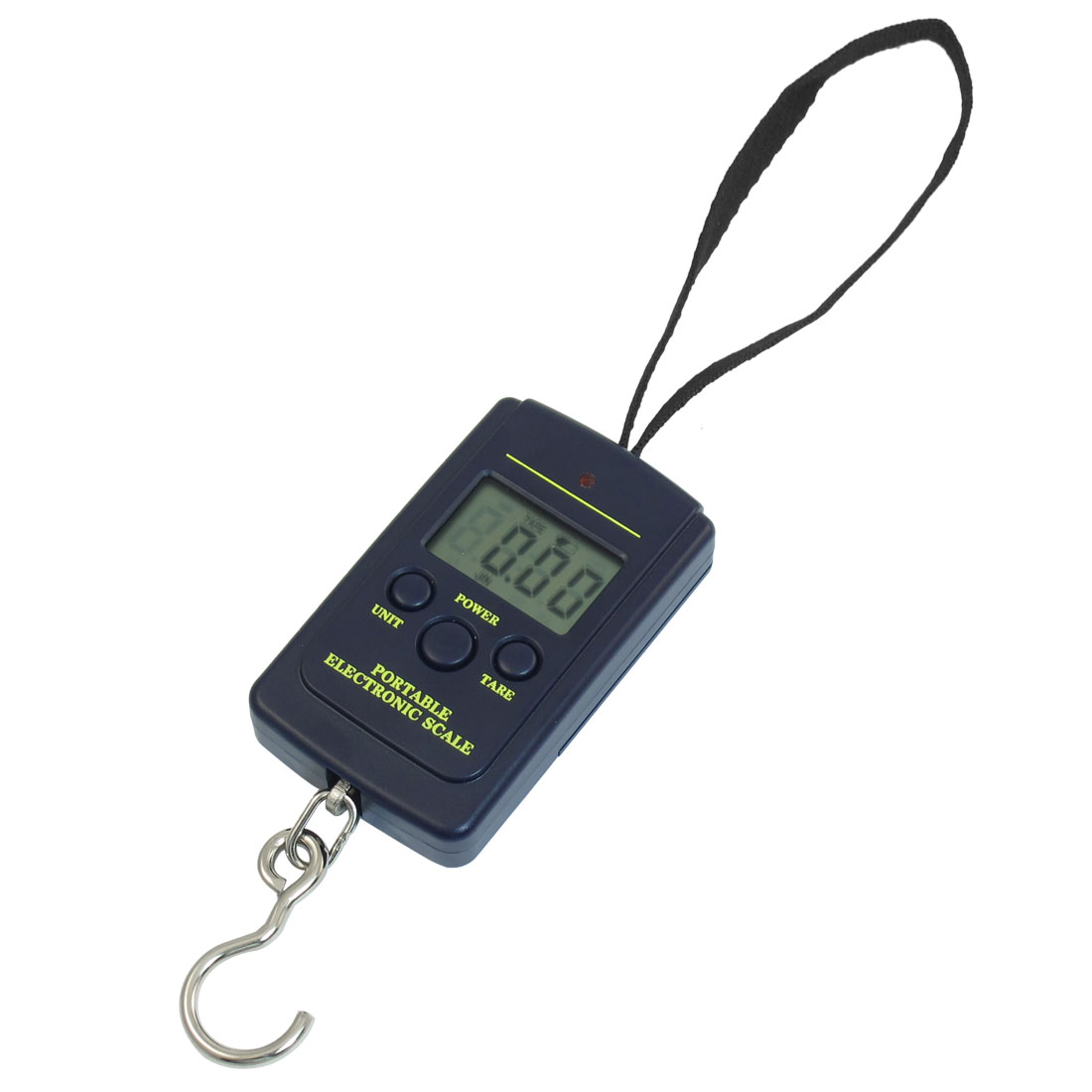 Dark Blue Plastic 40kg Weight Electronic Hanging Scale Measurement Tool