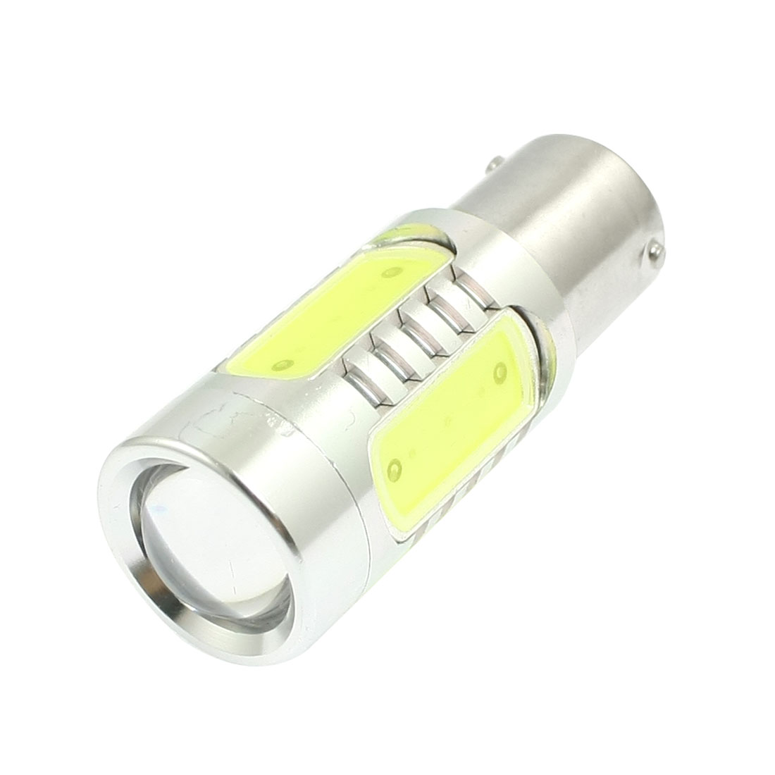 White 5 SMD LED 1156 BAU15S Auto Car Brake Turn Light Lamp 11W DC 10-24V