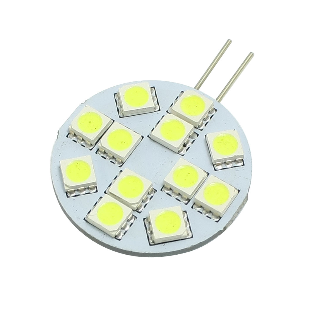 Marine Boat G4 Side Pin White 5050 SMD 12 LED Light Bulb Home Linear Lamp