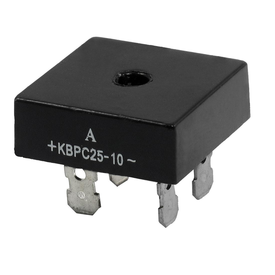 KBPC25-10 Professional Metal Case Bridge Rectifier 1000V 25A