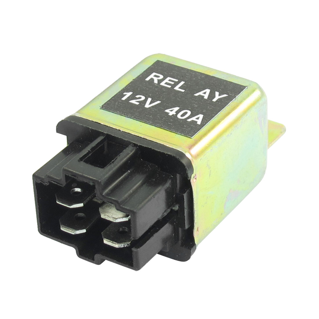 DC 12V 40A NO 4 Pins 6mm Mounting Hole 4 Pins Socket Automotive Truck Car Relay