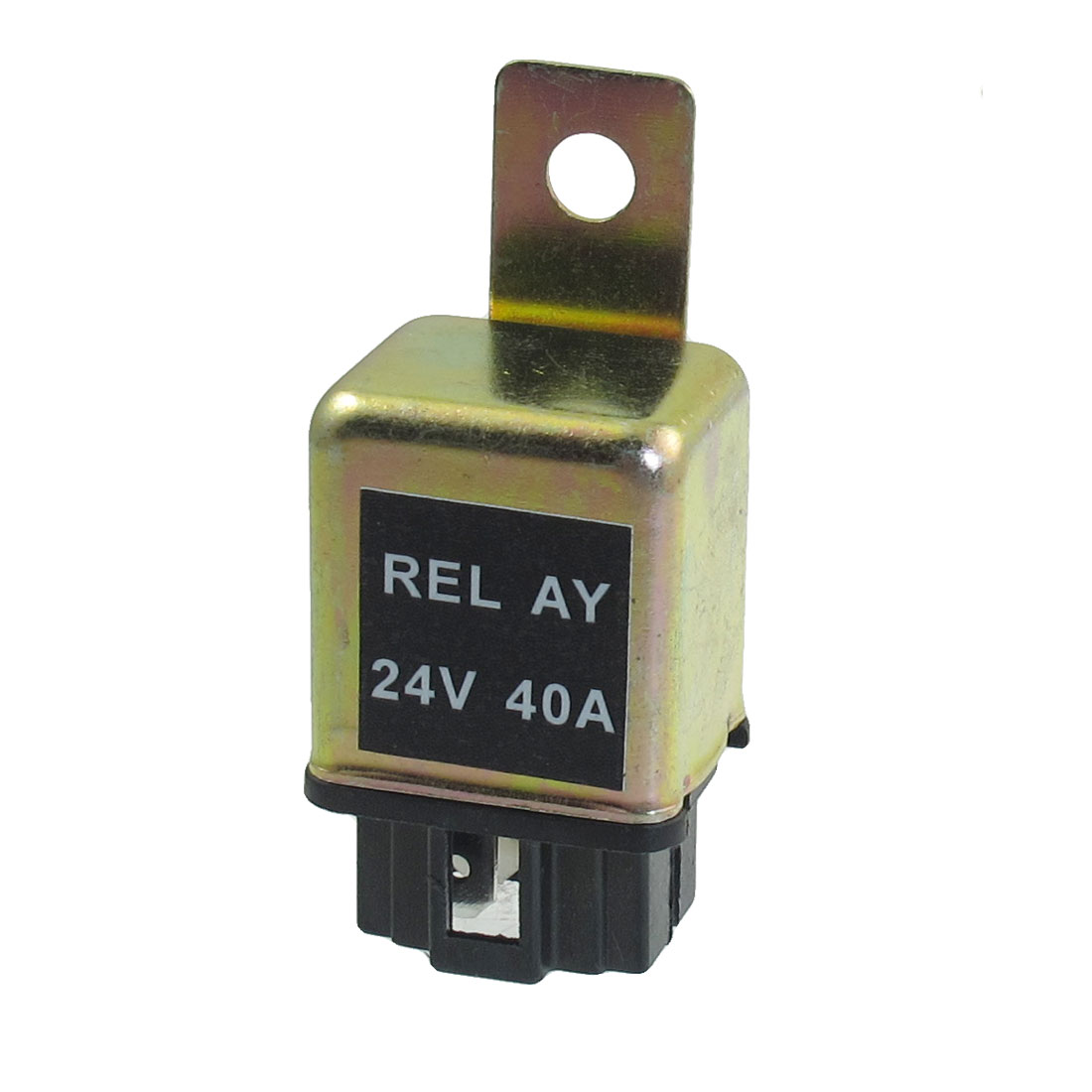 Alarm Auto Relay Switch Power 4-Pin NO 6.5mm Installing Hole 24 Volts 40