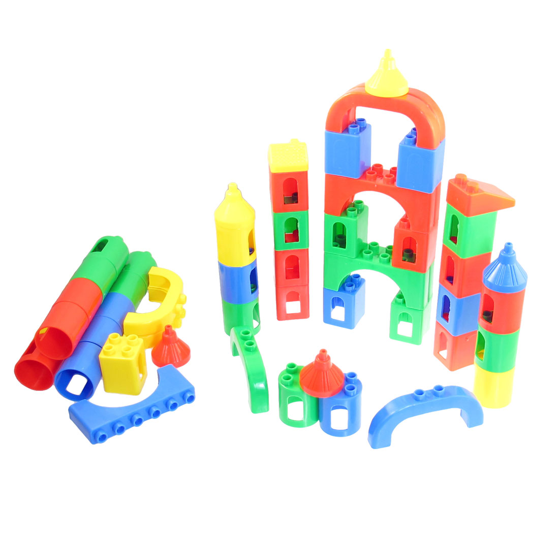 Children Educational Brain Training Plastic Transformable Building Block Toy