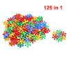 125 in 1 Snow Shaped Intelligence Educational Building Blocks for Kids