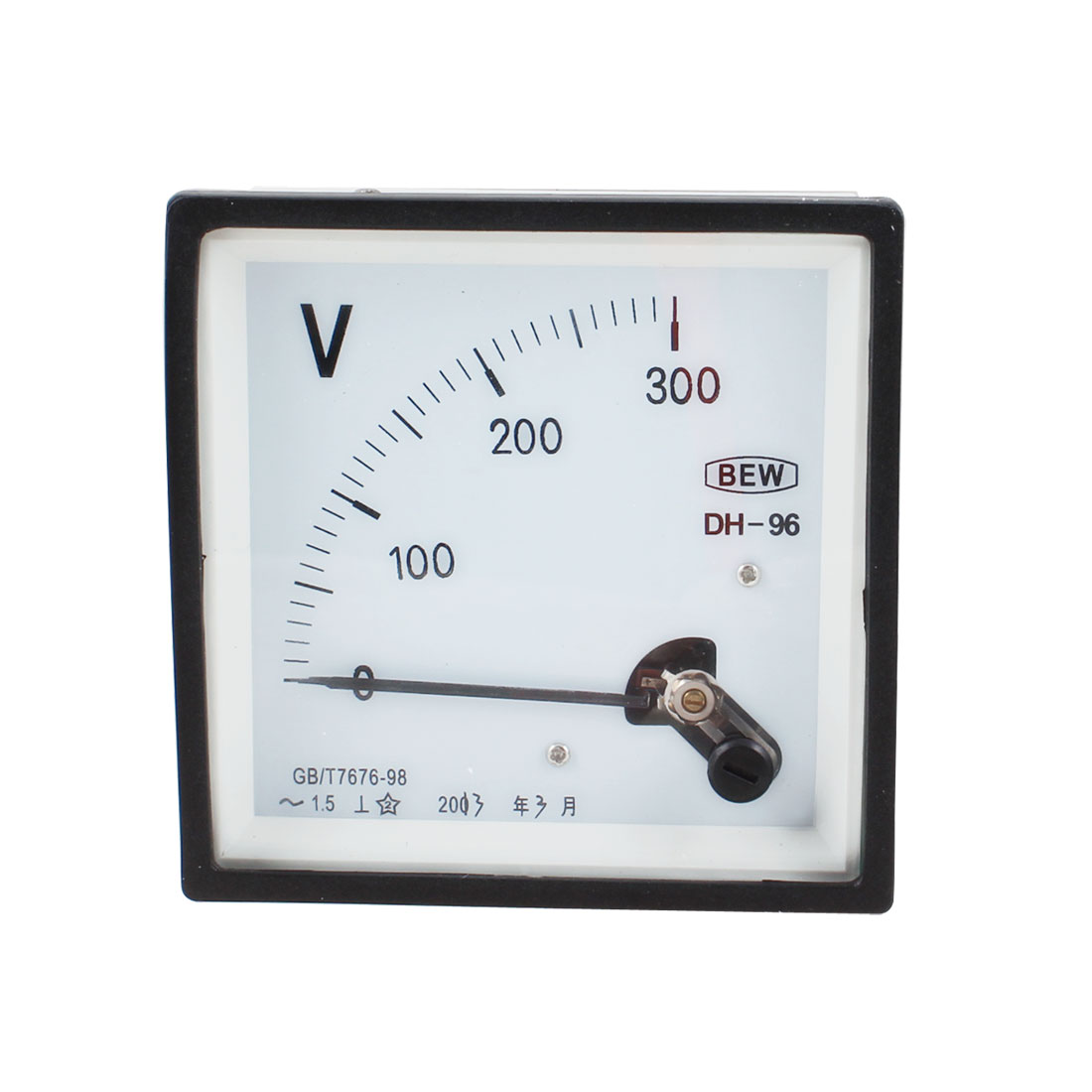 DH96 AC 0-300V Class 1.5 Accuracy Analog Panel Volt Meter Voltmeter Gauge