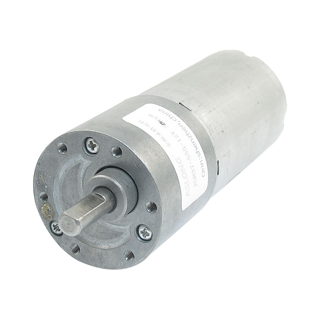 30RPM DC 12V High Torque Gear Box Electric Magnetic Speed Reduce Motor