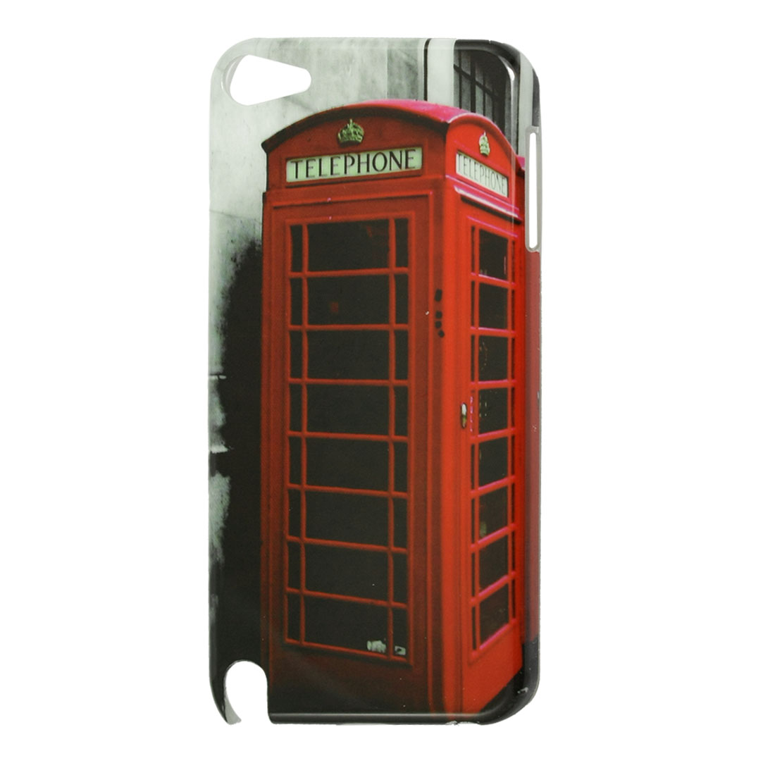 Red Telephone Box Hard Plastic IMD Back Case Cover for iPod Touch 5G