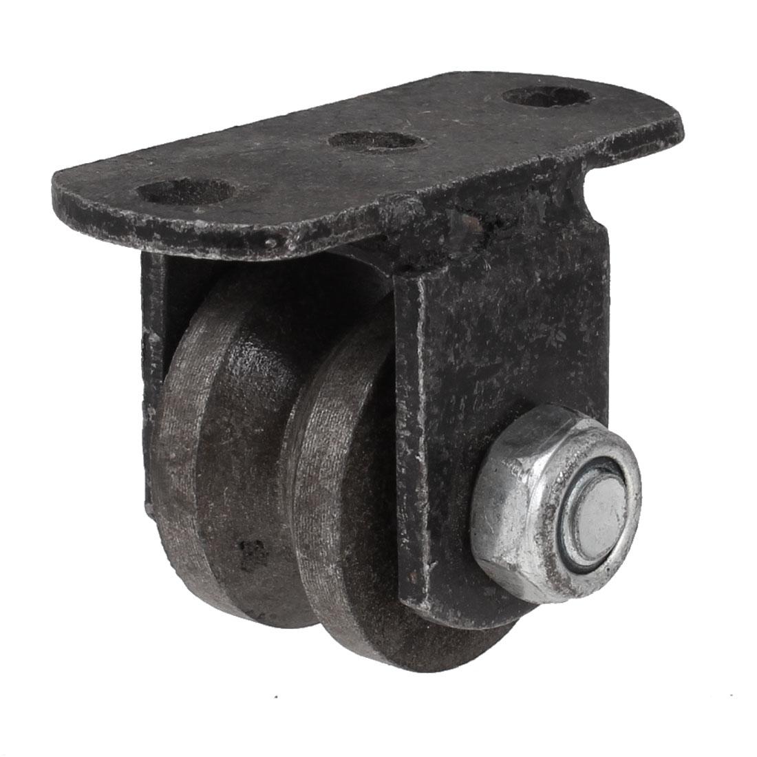 """Vintage Style Cast Iron 1.5"""" Dia Caster Wheel for Industrial Cart"""