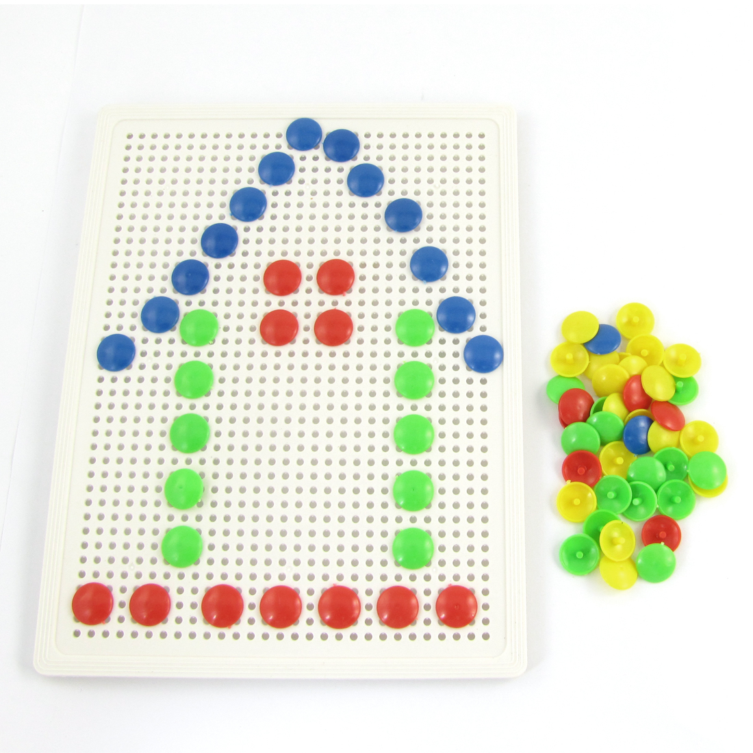 Kids White Board Composite Picture 69 Nail Creativity Puzzle Toy Set