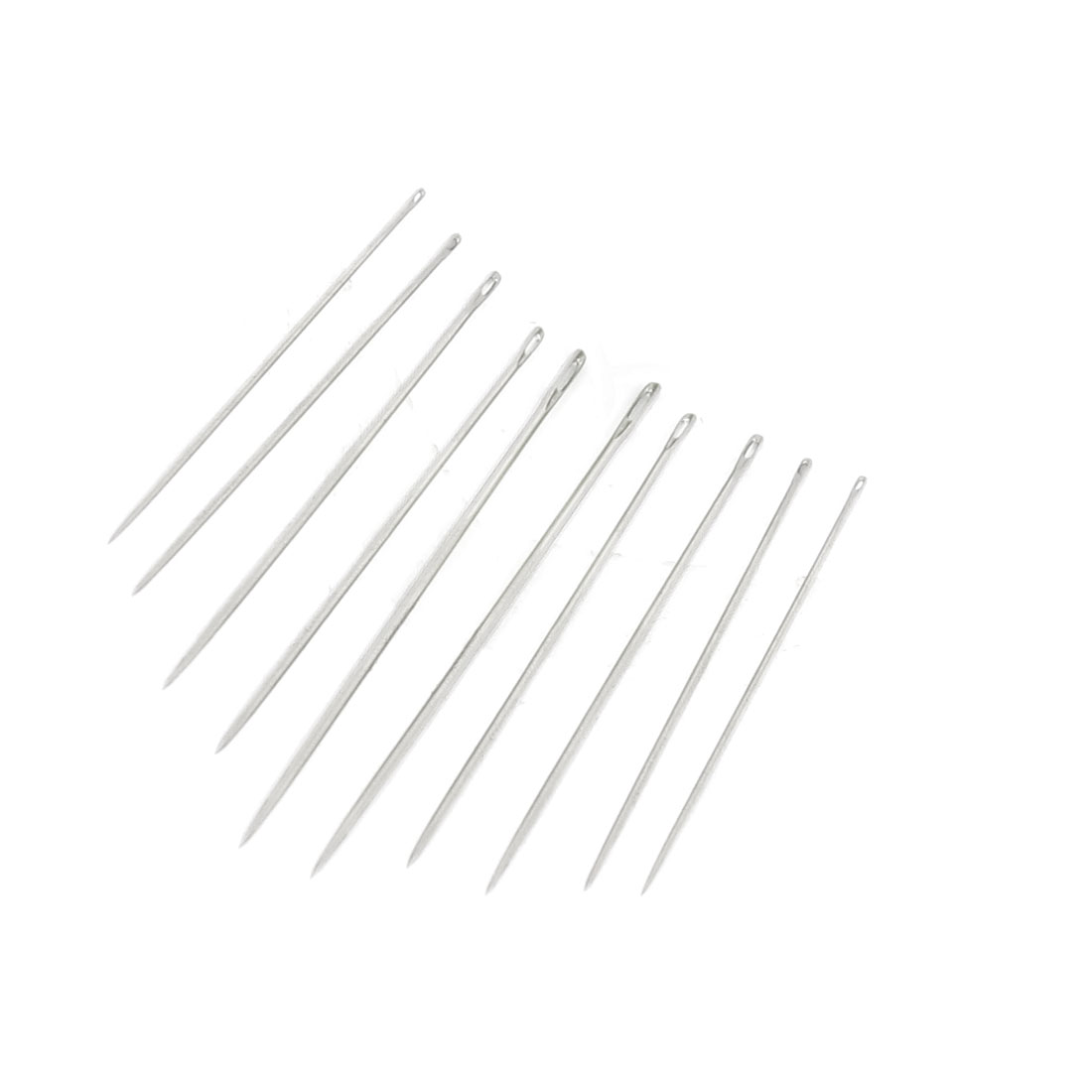 10 in 1 Metal Pointed Tip Clothes Stitching Sewing Needles