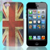 IMD England Flag Print Plastic Phone Back Shell Protector for iPhone 5 5G