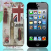 IMD England Flag Pattern Phone Back Case Cover for iPhone 5 5G