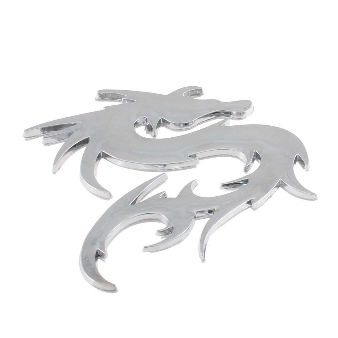 Chrome Plate Plastic Dragon Style Automobile Truck Decal Sticker