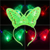 Butterfly Decor Red Green LEDs Light Christmas Xmas Hairband Hair Band for Child