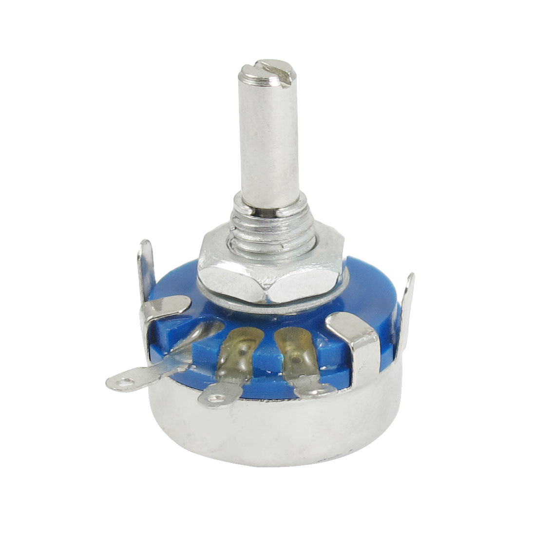 WH5-1A 1K ohm 4mm Round Shaft Linear Taper Rotary Carbon Potentiometer