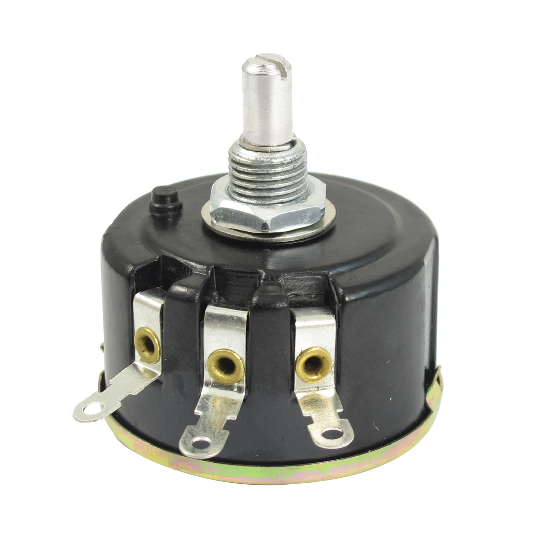 WX050 1K ohm 5W Watt 6mm Round Shaft Rotary Wire Wound Potentiometer