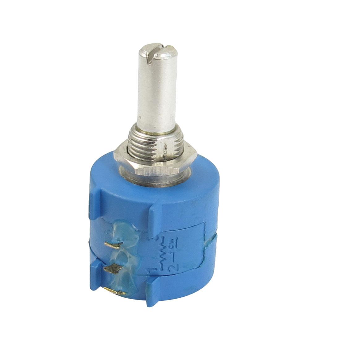 3590S-2-502L 5K Ohm 10-Turn Rotary Wire Wound Precision Potentiometer Pot