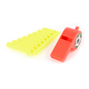 14 Pieces Sports Referee Assorted Colors Plastic Whistle Melodica Toy