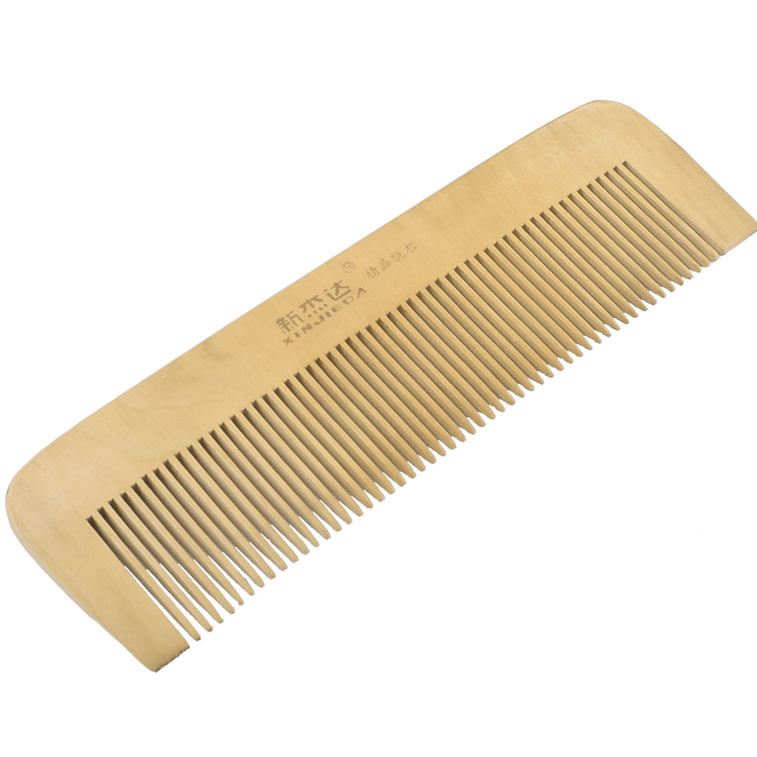 Brown Rectangular Shape Portable Healthy Sandal Wood Comb