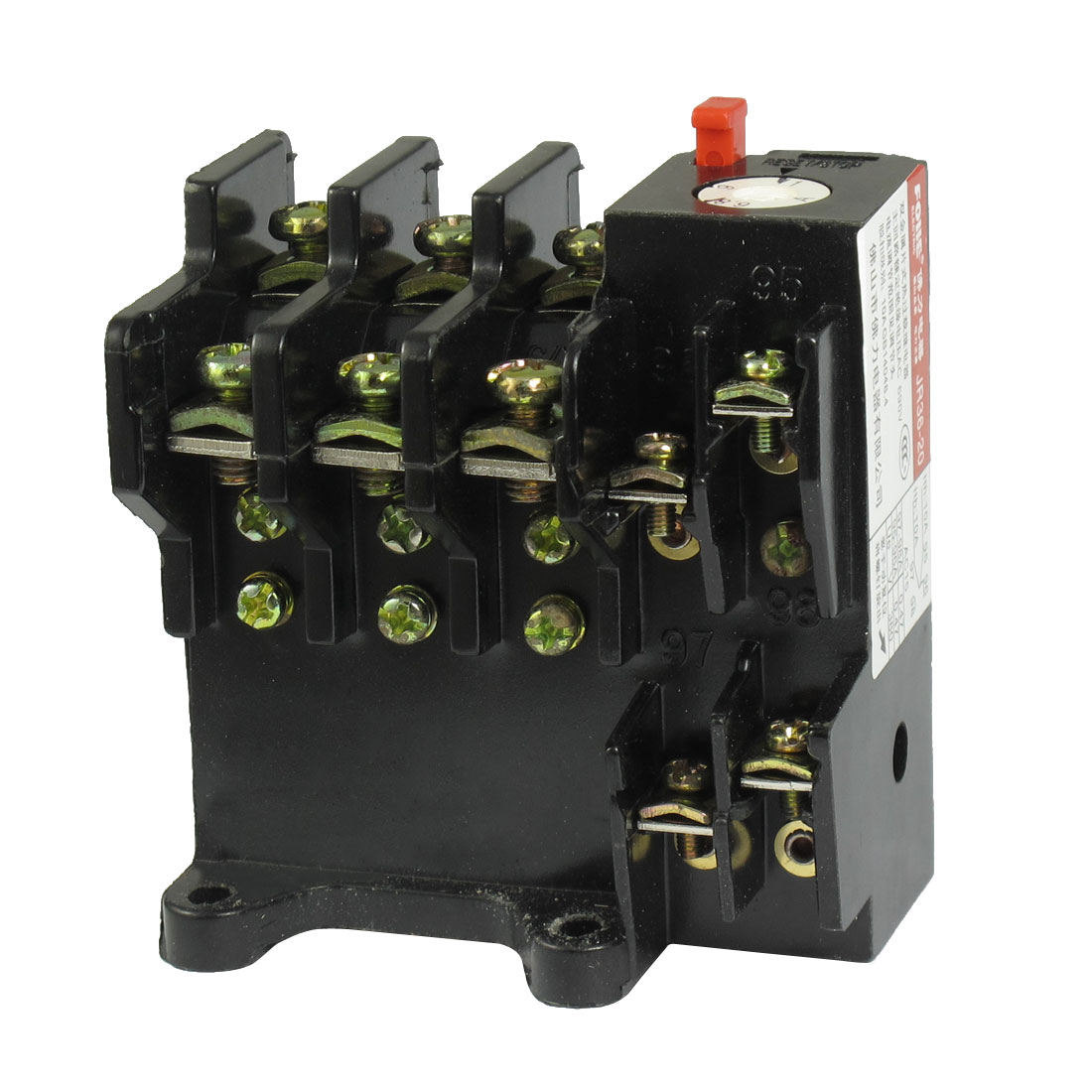 JR36-20 6.8-11A Adjustable 3-Pole 1NO 1NC Thermal Overload Relay