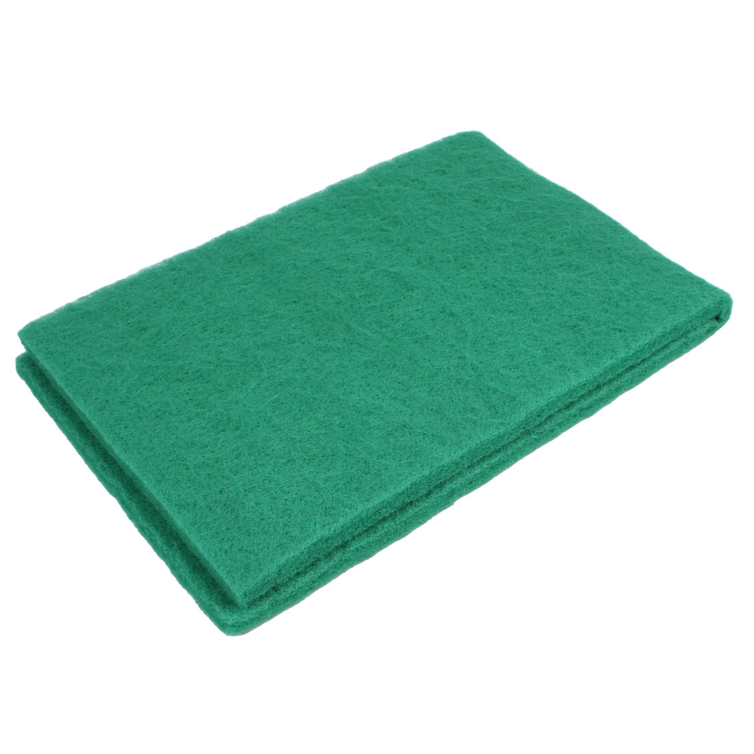 Fish Tank Aquarium Rectangle Shape Sponge Filter Biochemical Cotton Green