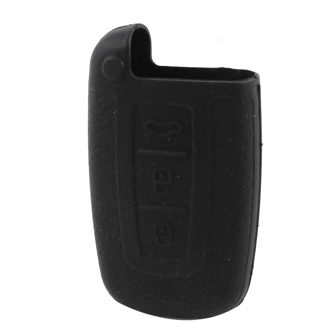 Silicone AUTO Car Remote Key Case Holder Fob Cover For Hyundai Black