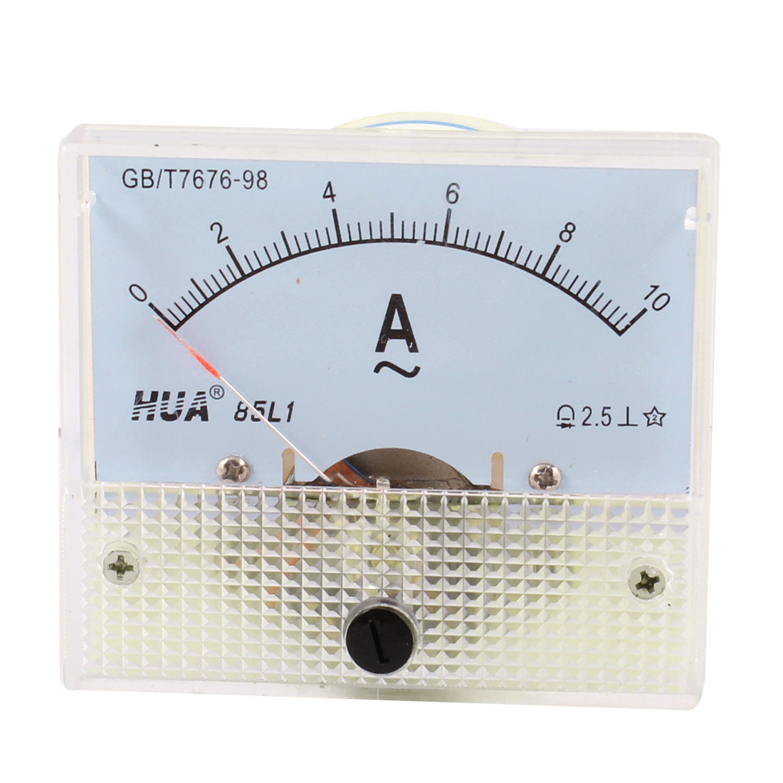 85L1 AC 0-10A Fine Tuning Dial Panel Ampere Meter Amperemeter