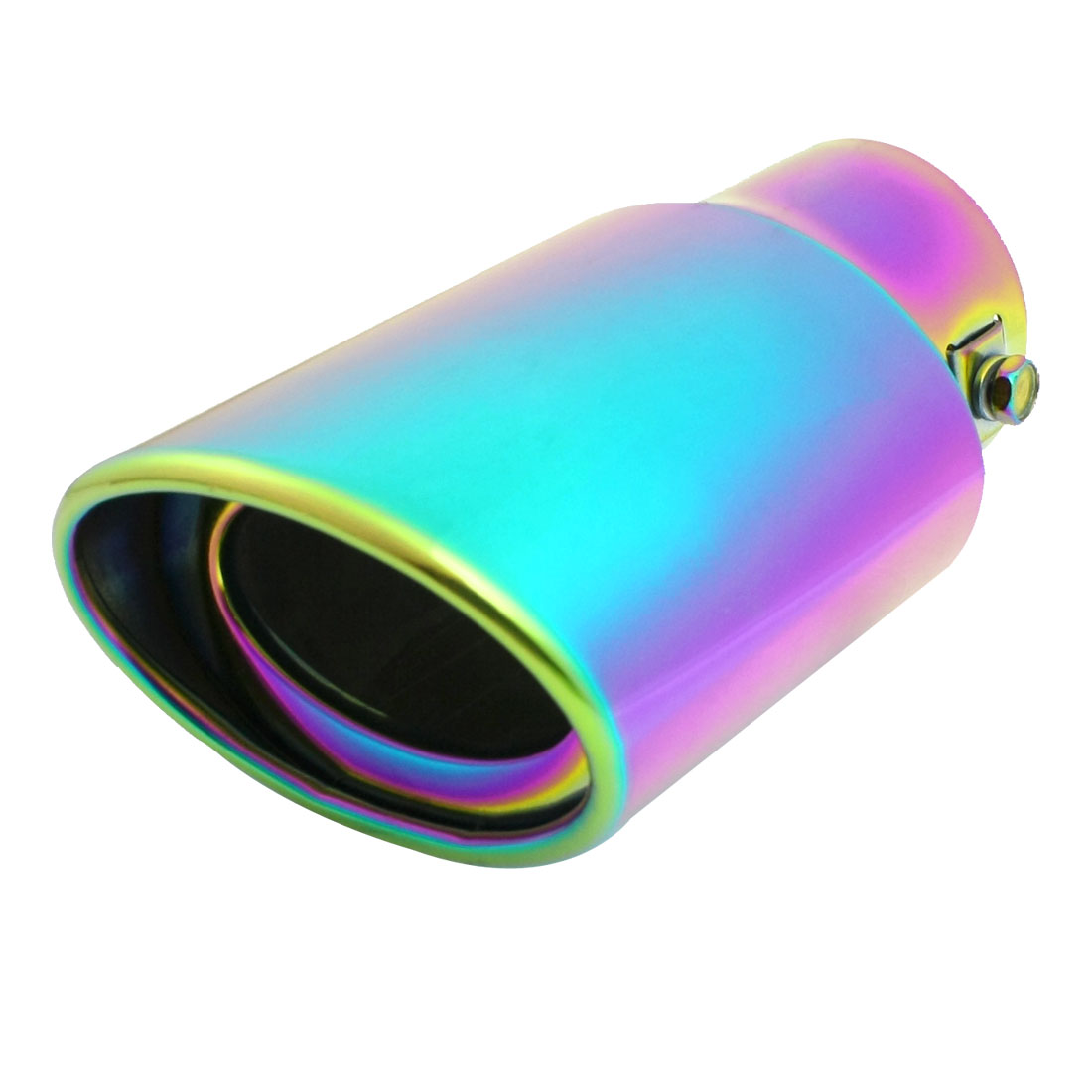 "Colorful Exhaust Pipe Silencer Tail Muffler Tip 2.4"" Inlet Dia for Vehicle"