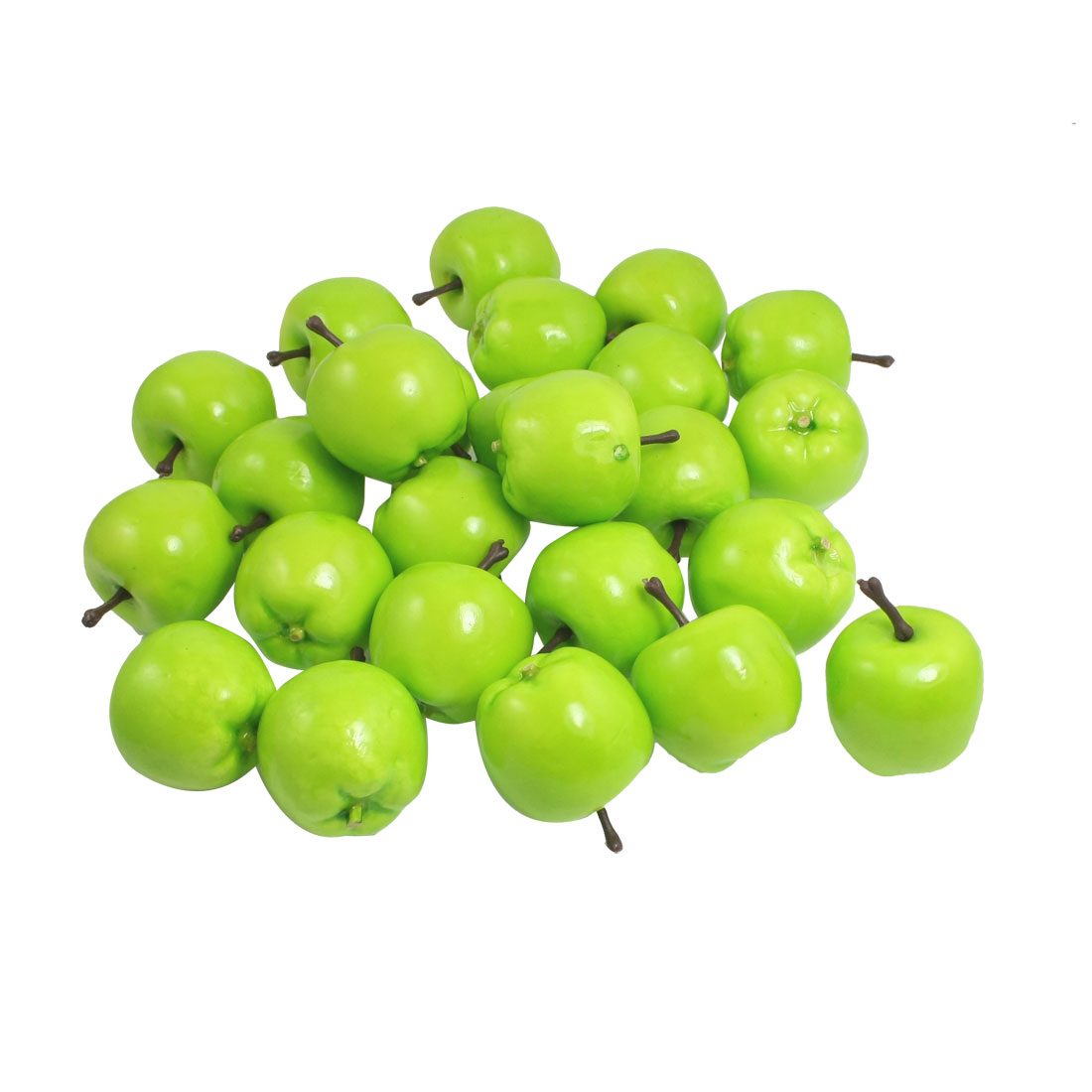 Faux Fake Foam Craft Apple Simulation Fruits Desk Ornament Decor 25 Pcs