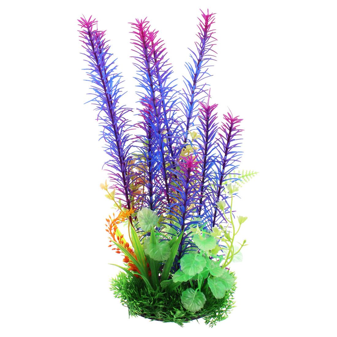 Artificial Multicolor Aquarium Underwater Grass for Fish Tanks