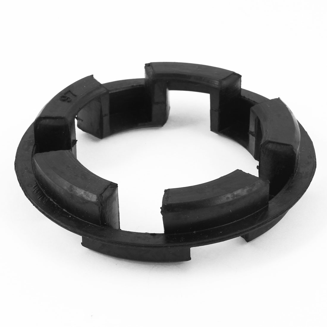 Rubber 97mm x 65mm x 12mm Shaft Coupling Insert Spider Black