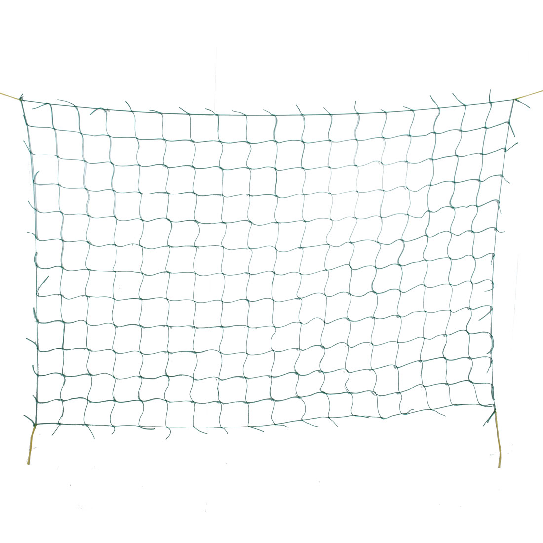 Green Yellow Hanging Nylon Gardening Plants Climbing Nets 1.8m x 0.9m