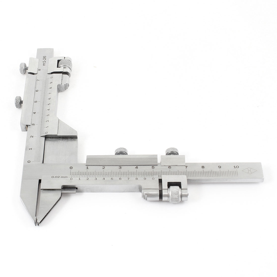 Gear Tooth Vernier Caliper Measuring Tool 100mm-0.02mm with Wood Box