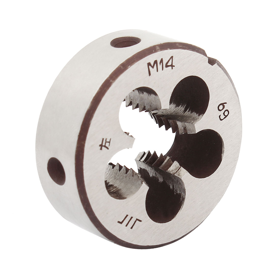 38mm Outside Dia 14mm Thickness M14 Round Thread Die Left Hand