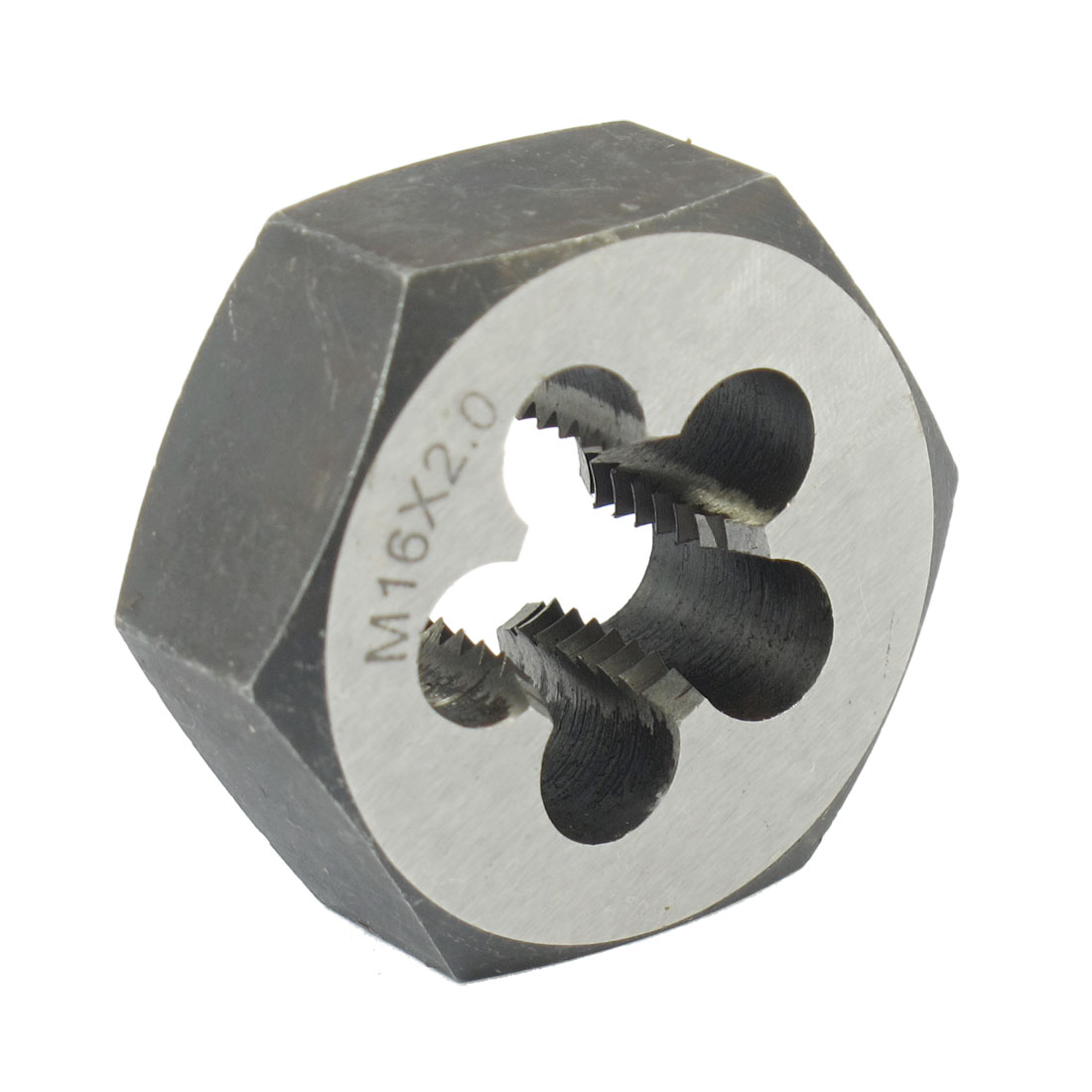 47mm Outside Dia 18mm Thickness M16 x 2 Hex Metric Thread Die Hand Tool