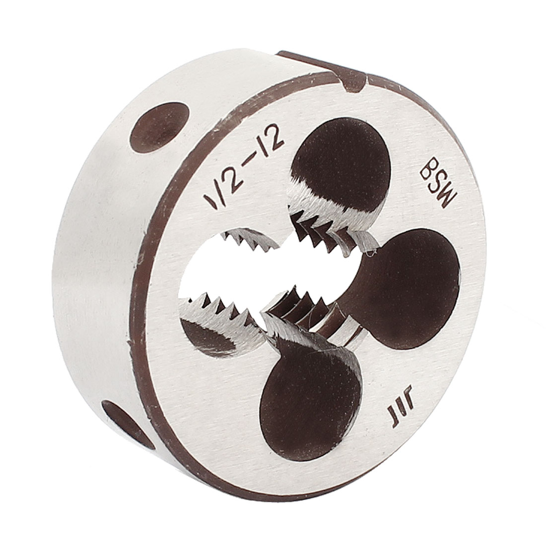 "Round Shaped 38mm Outside Dia 1/2"" BSW Thread Cutting Die"