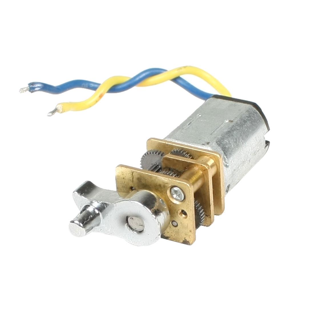 DC 12V 40RPM Rotary Speed Flat Shape Electric Mini Gear Motor N30